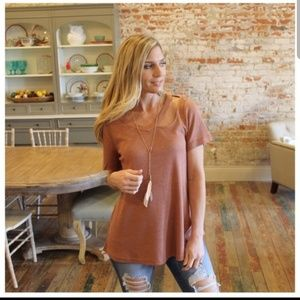 NWT Waffle Knit top